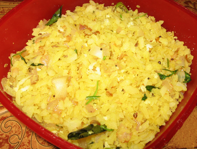 Aval uppuma,Avil upma,Flaked rice recipe