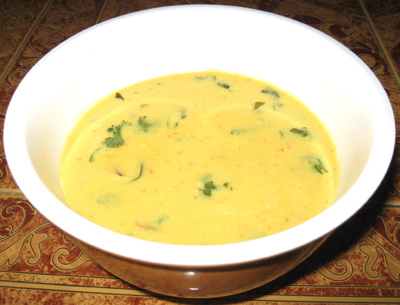 More kuzhambu recipe,Buttermilk curry dish