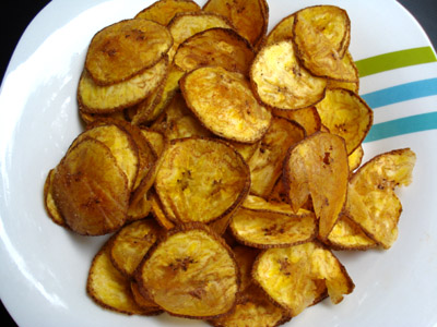 Green Plantain Chips