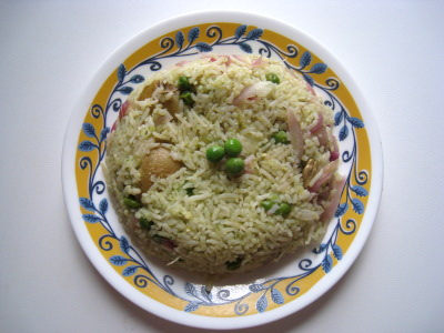 Mint Pulav, Pudhina Rice