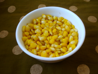 Sweet Corn Chat, Butter Corn