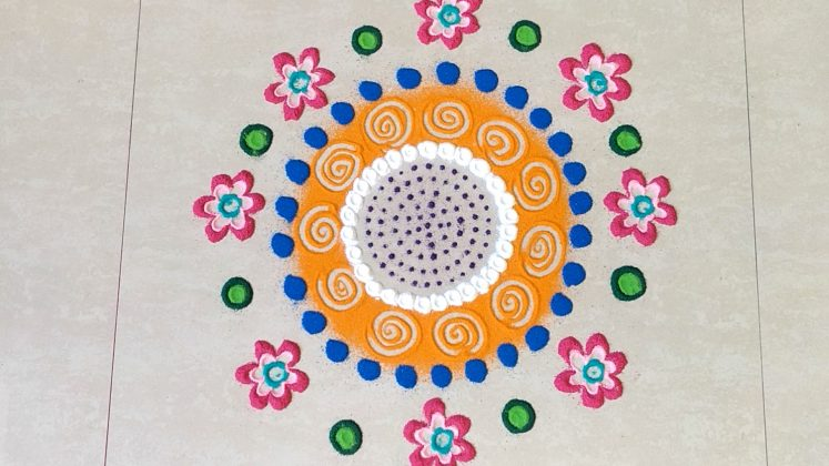Simple and Beautiful Rangoli Designs for Makar Sankranti