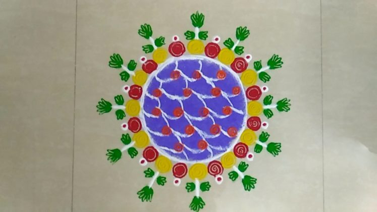 New Year Rangoli Designs | Kolam