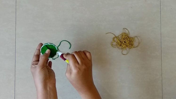 Bandhanwar From Waste Bangles How To Make Simply99