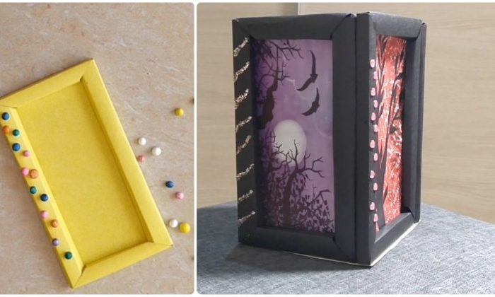 DIY Photo Frame Making at Home with Paper | Latest Picture Frame design