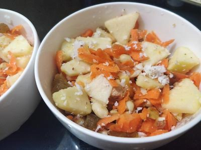 carrot crunch salad recipe
