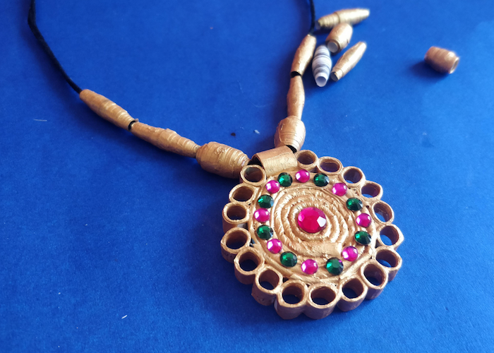Paper Jewellery Making | Handmade Jewellery | Recycled