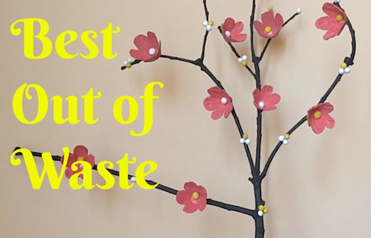 best out of waste tree branch