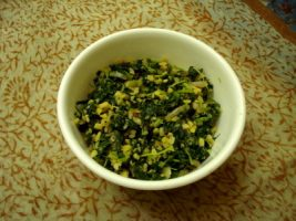 Thandu Keerai Poriyal Recipe - Amaranth Leaves Stir Fry