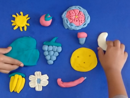 How to make Play clay at home | Homemade play dough
