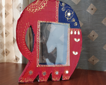 elephant photo frame