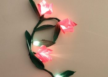 DIY Wall Hanging crafts ideas | Diwali Flower Light room decor