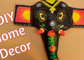 Home Decor| Elephant mask |Best out of waste|Upcycling |art and craft