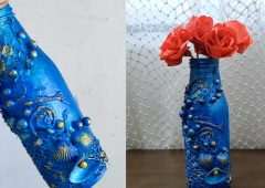 DIY Bottle Craft | Waste Bottle Craft Ideas | DIY Home Decor Bottle Craft | Art And Craft Idea