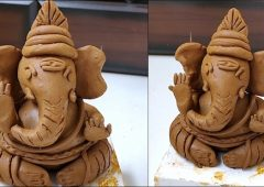 Ganesha making with Clay | How to make Ganpati making murti