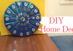 DIY - Home Decor | Plaster of paris Craft Idea | Wall Decor